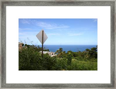 Caribbean Cruise - St Thomas - 1212179 Framed Print by DC Photographer