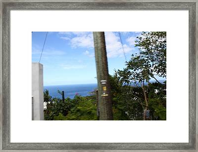 Caribbean Cruise - St Thomas - 1212182 Framed Print by DC Photographer