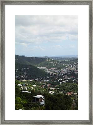 Caribbean Cruise - St Thomas - 1212199 Framed Print by DC Photographer