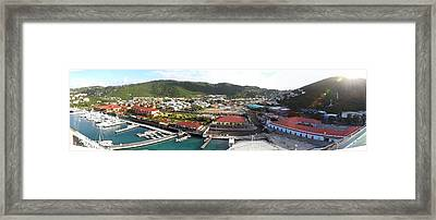 Caribbean Cruise - St Thomas - 12122 Framed Print