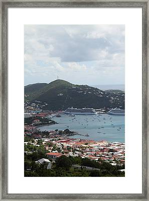Caribbean Cruise - St Thomas - 1212201 Framed Print by DC Photographer