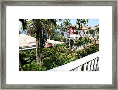Caribbean Cruise - St Thomas - 1212209 Framed Print by DC Photographer