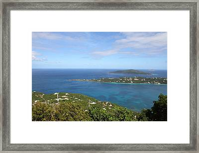 Caribbean Cruise - St Thomas - 1212227 Framed Print by DC Photographer