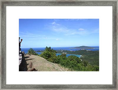 Caribbean Cruise - St Thomas - 1212235 Framed Print by DC Photographer