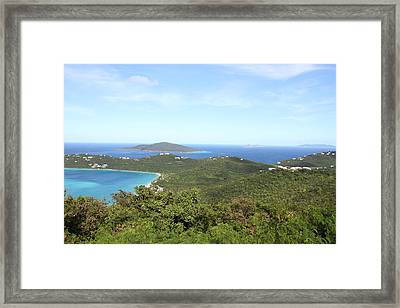 Caribbean Cruise - St Thomas - 1212240 Framed Print by DC Photographer