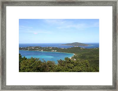 Caribbean Cruise - St Thomas - 1212246 Framed Print by DC Photographer