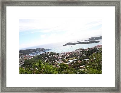 Caribbean Cruise - St Thomas - 1212248 Framed Print by DC Photographer