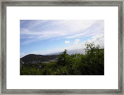 Caribbean Cruise - St Thomas - 1212252 Framed Print by DC Photographer