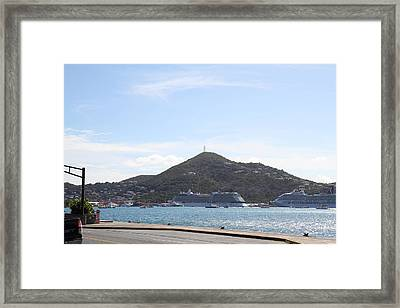 Caribbean Cruise - St Thomas - 121247 Framed Print by DC Photographer