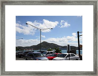 Caribbean Cruise - St Thomas - 121254 Framed Print by DC Photographer