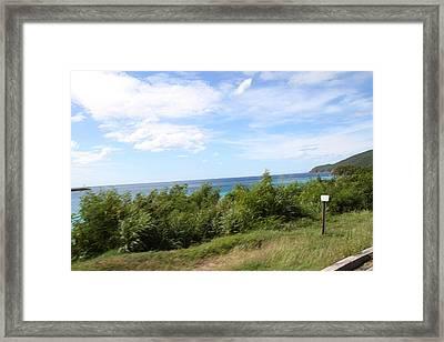Caribbean Cruise - St Thomas - 121275 Framed Print