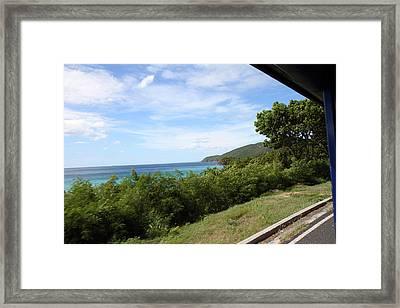 Caribbean Cruise - St Thomas - 121276 Framed Print