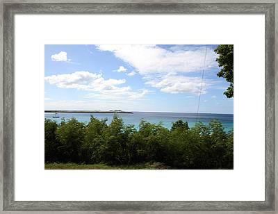 Caribbean Cruise - St Thomas - 121277 Framed Print by DC Photographer