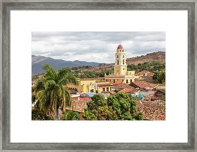 Caribbean, Cuba, Trinidad Framed Print by Emily Wilson