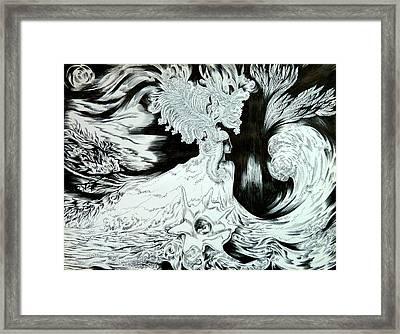 Caribbean Fantasy Framed Print