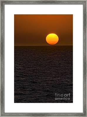 Caribbean Gold Framed Print