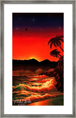 Caribbean Islands Framed Print