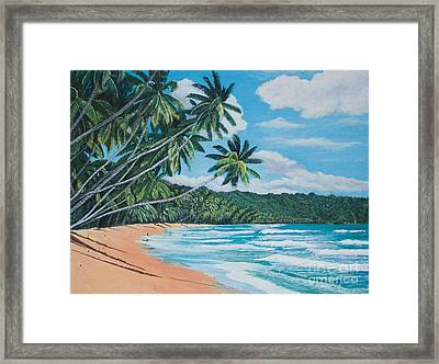 Caribbean Jewel -1 Framed Print
