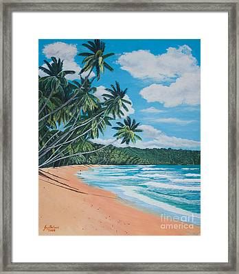 Caribbean Jewel Framed Print