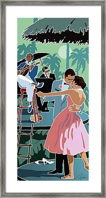 Caribbean Moon Framed Print