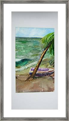 Caribbean Morning II Framed Print
