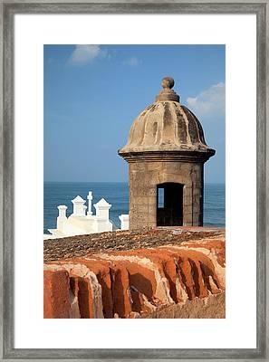 Caribbean, Puerto Rico, Old San Juan Framed Print by Jaynes Gallery