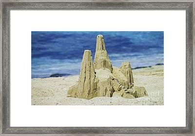 Caribbean Sand Castle  Framed Print by Betty LaRue