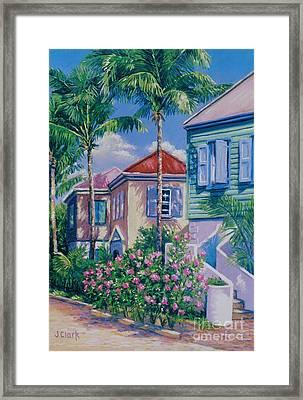 Caribbean Style   9x13 Framed Print by John Clark