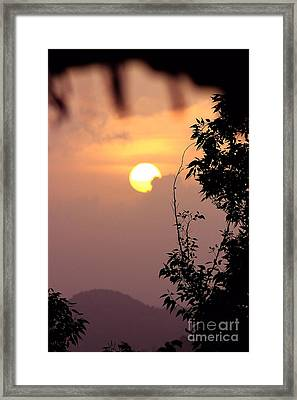 Caribbean Summer Solstice  Framed Print