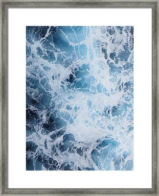 Caribbean Water Framed Print by Jean Marie Maggi