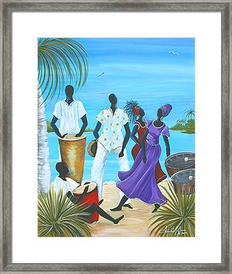 Caribbean Breeze Framed Print