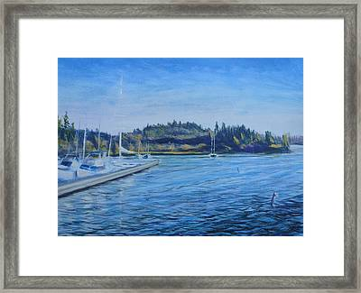 Carilllon Point Marina Framed Print by Charles Smith