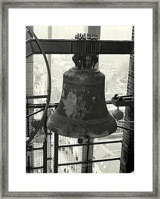 Carillon Framed Print by Jolly Van der Velden