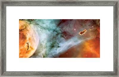Carina Nebula #4 Framed Print by The  Vault - Jennifer Rondinelli Reilly