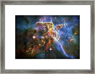 Carina Nebula 6 Framed Print by Jennifer Rondinelli Reilly - Fine Art Photography