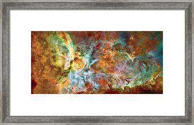 Carina Nebula - Interpretation 1 Framed Print by Jennifer Rondinelli Reilly - Fine Art Photography