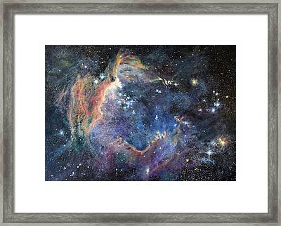 Carina Nebula Framed Print by Marie Green