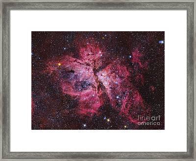 Carina Nebula Framed Print by Roberto Colombari