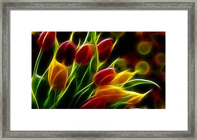 Caring Framed Print by Karen Showell