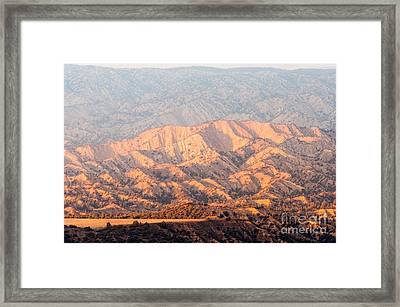 Carizzo Plains Nm  2-8574 Framed Print by Stephen Parker