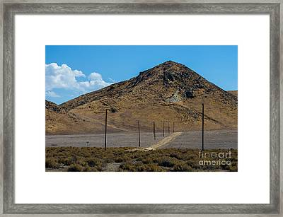 Carizzo Plains Nm  5-9653 Framed Print by Stephen Parker