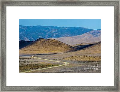Carizzo Plains Nm  5-9655 Framed Print by Stephen Parker