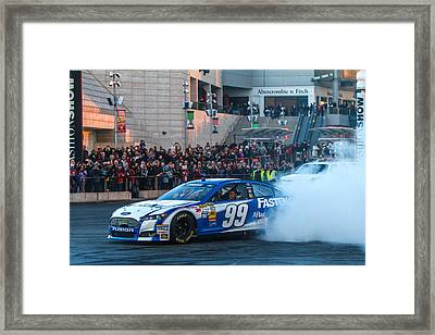 Carl Edwards Framed Print by James Marvin Phelps
