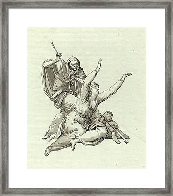 Carl Gotthard Langhans, German 1732-1808 Framed Print by Litz Collection