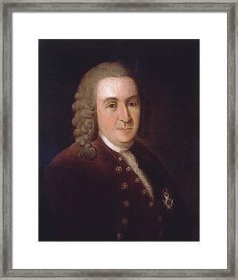 Carl Linnaeus, Swedish Botanist Framed Print