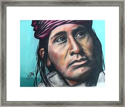 Carl Framed Print