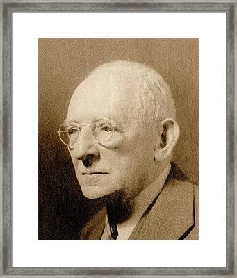 Carl Neuberg Framed Print by American Philosophical Society
