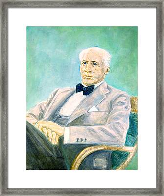 Carl Shuricht II Framed Print by Isabelle Ehly
