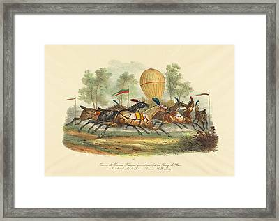 Carle Vernet French, 1758 - 1836, French Race Horses Framed Print