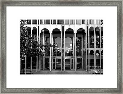 Carleton College Olin Hall Framed Print by University Icons